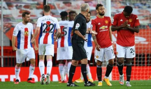 Man Utd player ratings vs Crystal Palace: Six get 4s or less as Red Devils suffer 3-1 loss