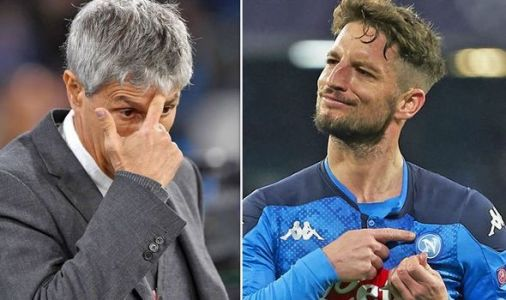 Barcelona and Napoli Champions League draw shows Quique Setien made wrong transfer call
