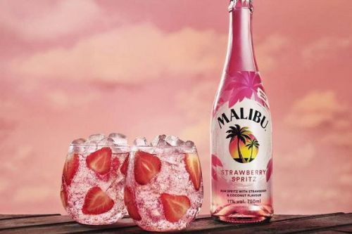 Tesco is selling bottles of Malibu Strawberry Spritz for only £7.50