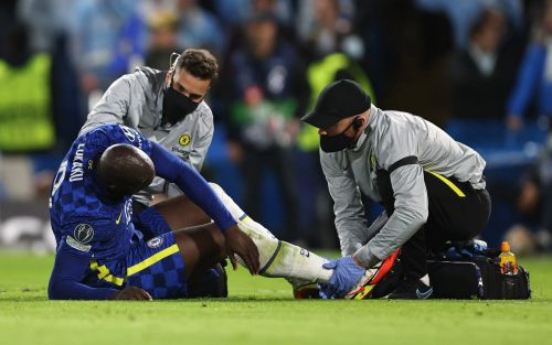 Chelsea fear Romelu Lukaku ankle injury will rule him out for minimum of two to three weeks