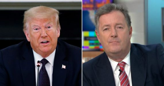 Piers Morgan boasts about phone call with Donald Trump - who predicts he'll win US election