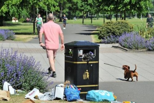 First 'phase one' weekend is marred by litter and rule breakers