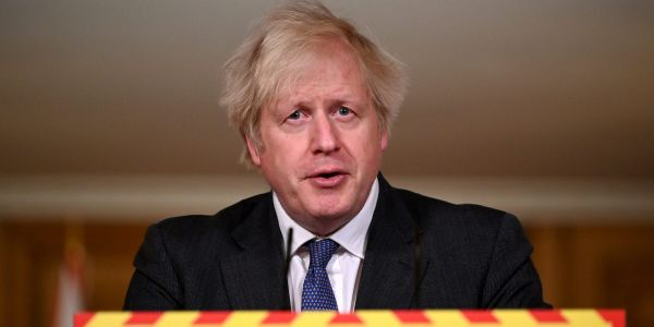 Boris Johnson says the UK's coronavirus variant may have up to a 30% higher mortality rate