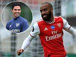 Mikel Arteta reveals talks with Alexandre Lacazette over his future at Arsenal will have to wait