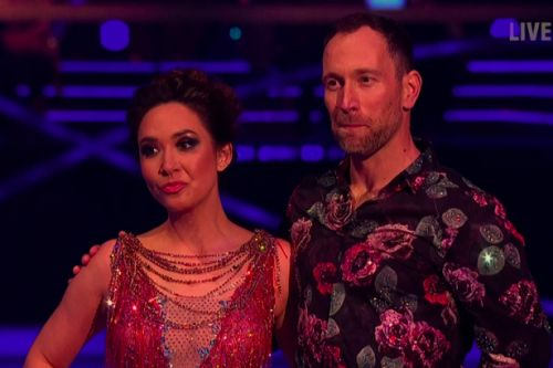 Myleene Klass is first to leave Dancing On Ice after skate off with Lady Leshurr