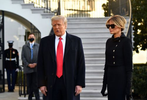 Melania Trump leaves White House with lowest ever popularity rating for first lady