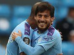 Manchester City 2-1 Bournemouth: David Silva and Gabriel Jesus goals burst the Cherries' revival