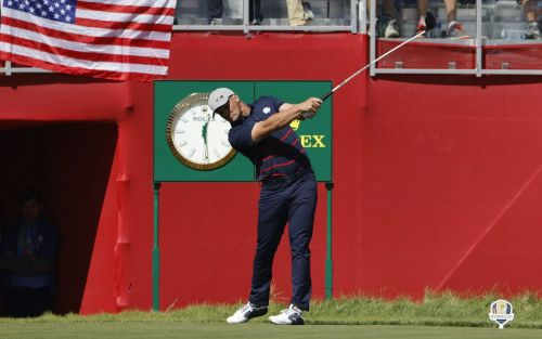 'That's absurd': Bryson DeChambeau smashes monster 417-yard drive as he bids to overpower Whistling Straits