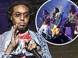 Migos rapper Takeoff sued 'by woman claiming he raped her at LA party' in June