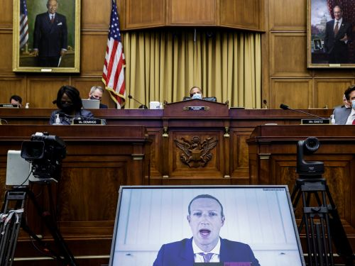 The Senate plans to subpoena the CEOs of Facebook, Google, and Twitter to testify before Congress next month