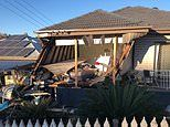 Sleeping family in Wollongong narrowly avoid disaster after a car crashed into their bedroom