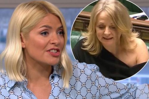 Holly Willoughby fiercely defends MP Tracy Brabin over 'inappropriate' dress scandal