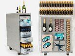 Qantas is selling old drink trolleys from its iconic Boeing 747 aircraft