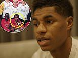 Marcus Rashford reveals Manchester United coaches didn't know he went without food
