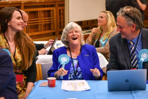 Ann Widdecombe wins thumping EU election victory wiping out Tories AND Labour