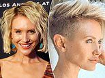 Nicky Whelan debuts a striking new look after shaving her head in self-isolation