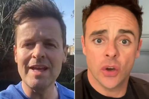 Ant and Dec will host Saturday Night Takeaway tonight from their homes