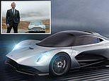 Aston Martin names new £1.5m hypercar Valhalla - and it will be used by Bond