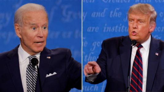Donald Trump taunts Joe Biden over his son's cocaine problem