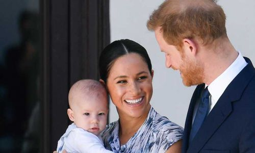 Baby Archie's godparents revealed as Prince Harry and Meghan Markle step back from royal duties