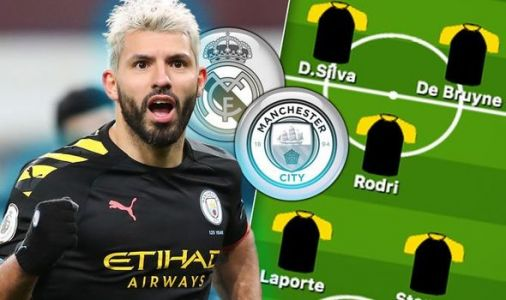 Man City team news: Predicted 4-3-3 line up vs Real Madrid - Sane out, Sterling doubt