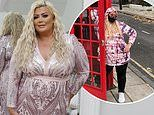 Gemma Collins showcases her incredible three stone weight loss in glittery pink gown