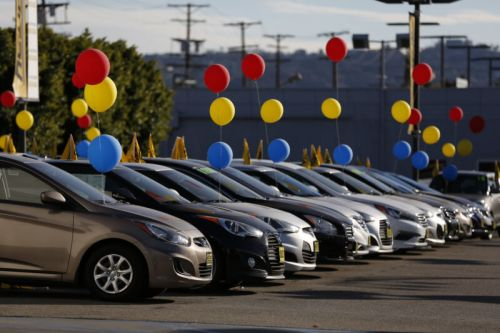 The auto industry reports Q1 sales, and they're really, really bad