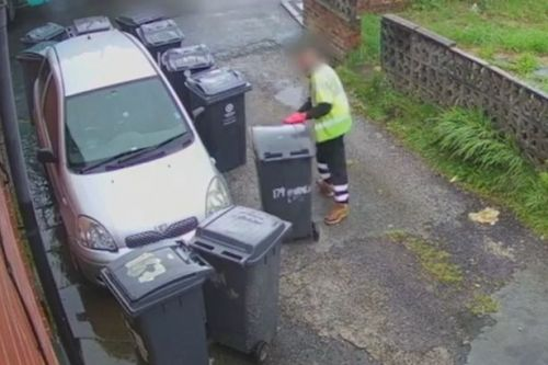 'Bully' dustmen surround family car with bins saying 'block that f****** car in'