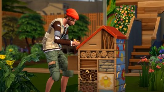 The Sims 4's next expansion makes your neighbourhood prettier if you're eco-friendly