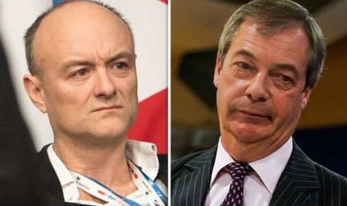 Dominic Cummings' brutal assessment of 'shallow' Nigel Farage revealed