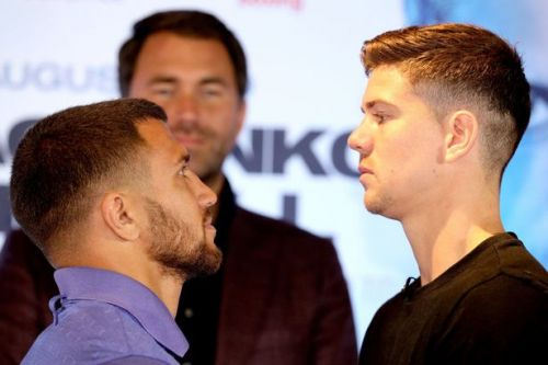 Luke Campbell refuses to be awed by Vasyl Lomachenko ahead of world title fight