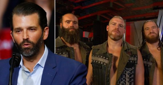 Donald Trump Jr thanks WWE's Jaxson Ryker for military service after wrestling star was blasted for praising president