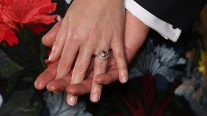 There is a reason Princess Eugenie's engagement ring looks like Kate's