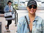 Chrissy Teigen steps out after revealing how bone broth helped her cope with postpartum depression