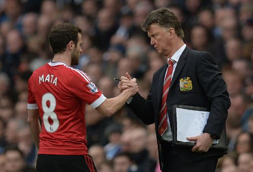 Manchester United playmaker Juan Mata opens up about 'scary' first meeting with Louis van Gaal