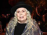 Joni Mitchell, 76, reveals she is still struggling to walk five years after herbrain aneurysm