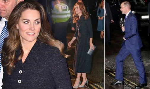 Kate Middleton dazzles for theatre date night with Prince William in London