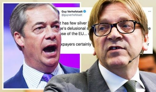 Guy Verhofstadt can't resist one final swipe as Brexit rival Farage quits politics
