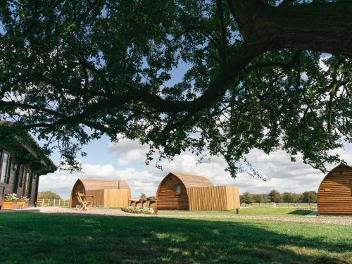 Take the dog on a UK glamping trip with Wigwam Holidays