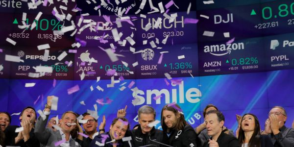 SmileDirectClub plummeted 20% and is now at an all-time low following weak 3rd-quarter earnings