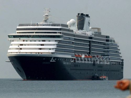 Cruise workers on Holland America's stranded Oosterdam ship are growing anxious after a sick employee was airlifted off the ship and more than 100 crew members were forced into isolation because of coronavirus fears