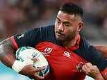 Form guide: Expect even more physicality from England's Manu Tuilagi