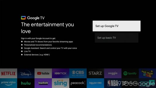 """Google's Smart TV software will have a """"dumb TV"""" mode"""