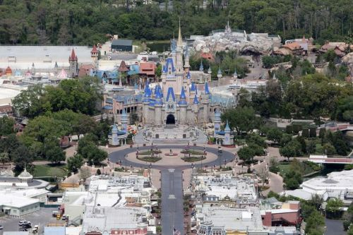 Striking Photos Show Empty Disney World As It Remains Closed During Coronavirus Pandemic