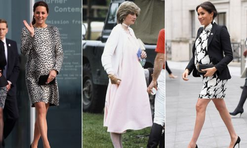 13 pregnant royals ready to pop! See final baby bump photos before they gave birth