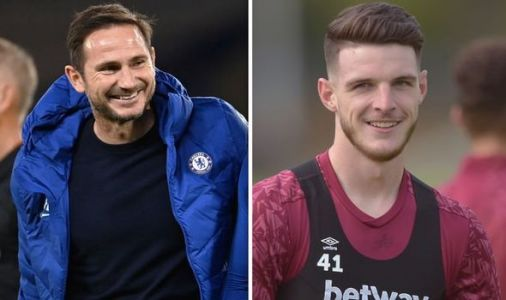 Chelsea boss Frank Lampard has perfect bait to secure signing of West Ham star Declan Rice