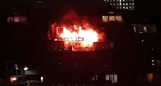 Glasgow Flats Fire: Firefighters Tackle Large Blaze In City Centre