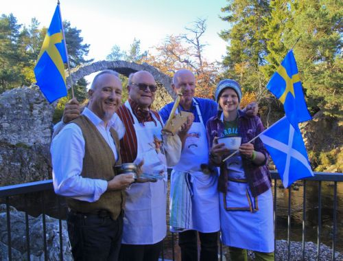 Porridge fans from across the world head to Carrbridge to vie for World Porridge Making Champion title