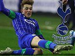 Tottenham hold talks over £500,000 deal for 15-year-old Wigan midfielder Alfie Devine