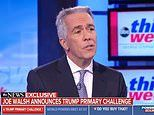 Donald Trump is facing ANOTHER primary challenger: Conservative radio host Joe Walsh